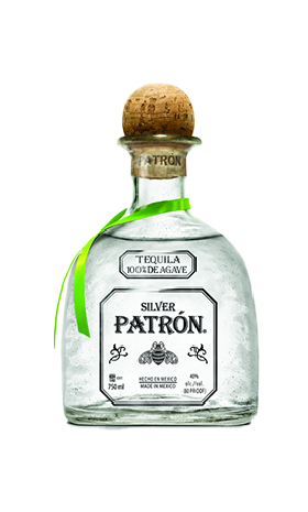 Silver Patron Tequila 1